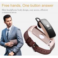 Wholesale Smart Bluetooth Sports Activity Bracelet , Touch Screen Smart Watch Wristband from china suppliers