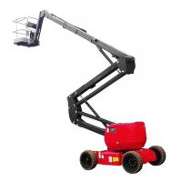 Buy cheap Premium quality Self Propelled Aerial Work Platform Electric Articulated Boom from wholesalers