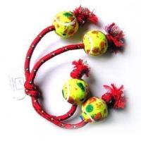 Rope Tug Rings With Balls (9867)