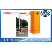 China Car Park Entrance Automatic Barrier Gate 50 / 60 Hz Vehicle Access 8 Meters Boom on sale