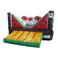 Wholesale Commercial Indoor Kids Mushroom Bouncy Castle Made With 0.55mm Pvc Tarpaulin from china suppliers
