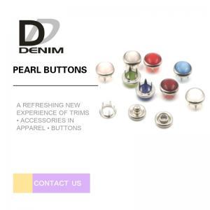 Wholesale Lightweight Down Jacket Buttons Colored Snap Buttons Men & Women