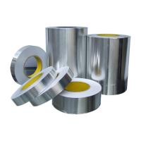 Wholesale Acrylic Adhesive heat resistant Aluminum Foil Duct Tape 50mm silver colour from china suppliers