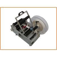 China Semi Automatic Bottle Sticker Labeling Machine Hand Label Applicator for sale