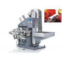 Single Color Automatic Hot Foil Stamping Machine Plastic / Metaltube Printing for sale