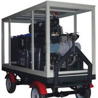 Quality Vacuum Transformer Oil Purifier Mounted On Trailer With Weatherproof for sale