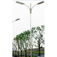 Wholesale galvanized steel liluminated pole4m, 5m, 6m, 8m, 10m, 12m galvanized steel street lighting pole price street light pole from china suppliers
