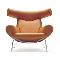 Wholesale OX chair with ottoman designer chair leather office chair recliner lounge chair from china suppliers