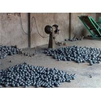 Precision Middle Chrome Forged Steel Grinding Balls Cast Grinding Ball  > 48HRC Minimum