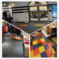 Wholesale 3W Plastic Vinyl PVC Anti-slip Interlocking Shoping flooring Mats from china suppliers