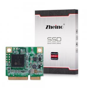 Capacity 128GB mSATA SSD Half Size Idle 0.3W Write 120MB / S With ECC Support