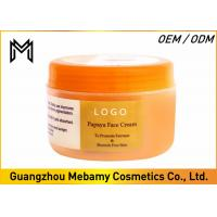 Wholesale Skin Whitening Face Cream Womens Face Creams Papaya Extract Reduces Dark Spots from china suppliers