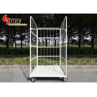 Custom Movable Laundry Roll Container Trolley With Layers  One Piece Nameplate for sale