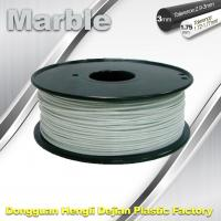 Wholesale Marble 3D High Strength Printer Filament 3mm / 1.75mm , Print temperature 200°C - 230°C from china suppliers