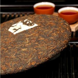 Wholesale Organic Ripe Pu Erh Tea Cake, AA Grade Yunnan Puerh Tea For Weight Loss from china suppliers