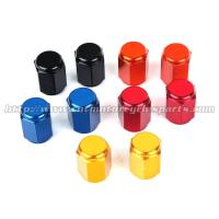 Colorful Decoration Tire Air Valve Caps , Air Caps For Tires / Wheel for sale