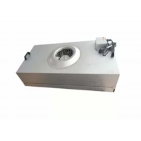 Wholesale Clean Room Hepa Fan Filter Unit Coil Filtered Exhaust Fan Galvanized Plate from china suppliers