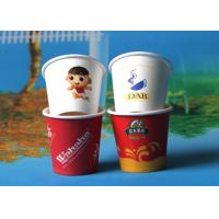 Best White / Red Biodegradable Coloured Paper Cups Safe And Non-toxic wholesale