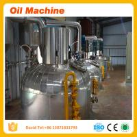 Wholesale sunflower oil making machine for extraction refining and dewaxing processing machine price from china suppliers