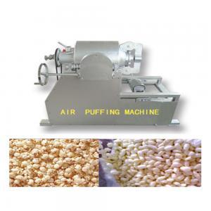 Large Capacity Grain Puffing Machine , Full Automation Puffed Food Machine