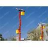 Cree Led Solar Street Lighting System , 150 Watt Square Solar Exterior Lights for sale