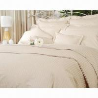 China Hotel Duvet Cover Comforter/Pillow Bed Sheet, Various Colors and Designs are Available  on sale