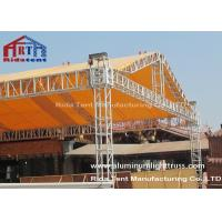 Outside Event Aluminum Square TrussLighting Tower System High Corrosion Resistant