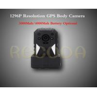 Wholesale M505 1296P Resolution Police Body Worn Camera with GPS , 11 hours working time from china suppliers