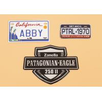 Wholesale Label Printing Personalized Metal Name Plaques Custom Stamped Metal Tags from china suppliers