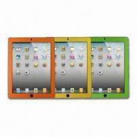 Wholesale Screen Protectors for Apple's iPad, with Multicolored Carbon Fiber Frame, Dust-resistant from china suppliers
