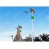High Lumen 50w Solar Powered Outdoor Lights , Flux 6750lm Solar Powered Landscape Lights for sale