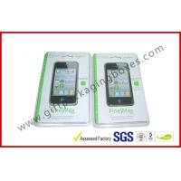 Fashion Clear Fold Plastic Clamshell Packaging Boxes For Iphone 5s Case for sale