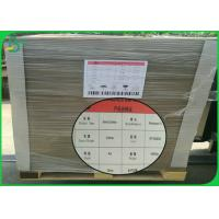 China Folder Cover Grey Cardboard Sheets 1mm 2mm 2.5mm Thick With High Smoothness for sale