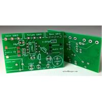 China Electronic manufacturer HASL 1 OZ Double Sided PCB Board 2 Layer Squre Board For car light for sale