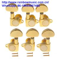 China Customer design guitar tuner machine heads For acoustic Guitar Electric guitar musical instruments parts for sale