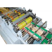 Electric Motor Driven Paper Bag Forming Machine with Four Colors Flexo Printing