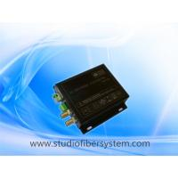 China broadcast 3gsdi with RS485 over fiber extenders for remote studio fiber system on sale
