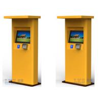 Banks Bill Payment Kiosk All in One / Cash Payment Kiosk Support Magcard , IC Card