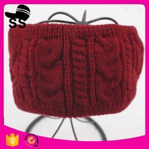 China Polyester Fleece Custom Logo Cheap Warm Protection Sports Head Band Women Washing Hair Towel Embroidery Ladies Headband on sale