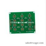 China PCB direct supplier 1 OZ 2 layer rigid printed circuit Board For Temperature Controller for sale