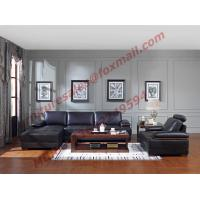 Wholesale Italy Leather Sofa with L-Shape in Wooden Sofa Set from china suppliers