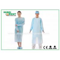 Wholesale CPE Plastic Disposable Protective Gowns , Surgeon Medical Patient Gowns from china suppliers