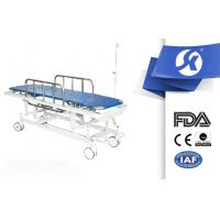 China Four Wheels Moving Patient Transport Trolley Ambulance Stretchers on sale