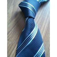 China Blue and grid neck tie for sale
