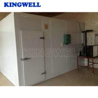 Wholesale 10m³ To 5000m³ Industrial Blast Freezer Room For Vegetables / Fish / Meat / Chemicals from china suppliers