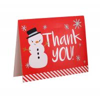China Birthday Holiday Custom Paper Card With Logo , Recycled Paper Thank You Cards for sale