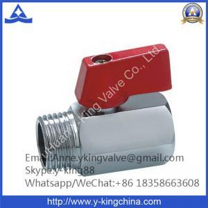 China Brass Mini Ball Valve on sale