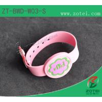 Wholesale RFID one-time PVC wristband tag (LF/HF, Infants special. Product Type:ZT-BWD-W03-S) from china suppliers