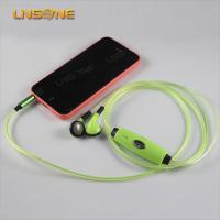 Wholesale Hight qulaity 3.5mm led light earphone bulk from china suppliers