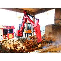 China China Factory Price Red Color Hydraulic Rock Breaking Boom System for sale